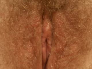 wife\'s gorgeous natural pussy