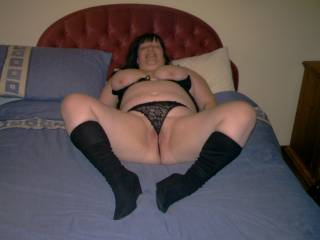 Id love to feel those boots digging in my back, as i pulled your panties aside, and feed my fat shaven cock deep inside you xxxx😍😍😍😘