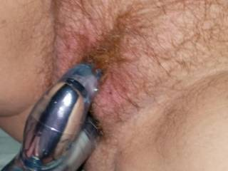 Watching my wife masterbate is amazing. She loves talking nasty while she fucks herself.