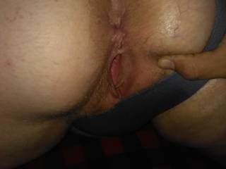 Getting ready to eat this pussy and ass any females want to do a MFF HOOK UP INBOX ME
