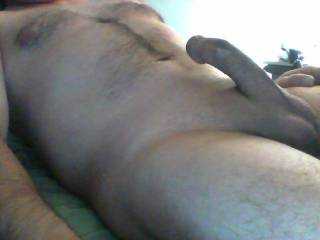 Don't you like a hard shaved cock in bed ; )