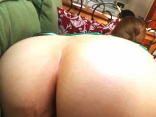 Cum on my butt