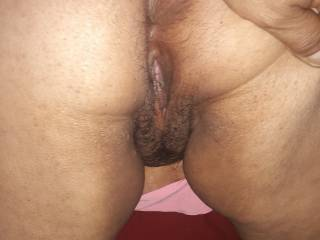 I just had to open her up to show how tight her asshole is and and another pic of her hot wet pussy I love to eat that pussy