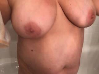 these big tits are ready for your big cock guy\'s..anyone wanna stop over and titty fuck her
