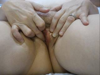 Just getting my pussy all juicy for you with my fingers. Ready to feast on some married pussy? It is nice and wet for your mouth and cock.
