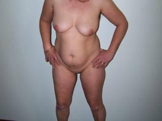 chubby mid 40s milf wife