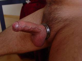 Oh yes.....that is simply gorgeous...semi-sheathed, veined and those smooth shaved balls...x