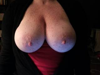 Seriously enormous titties :)