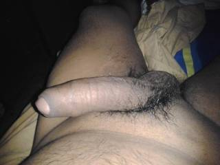 Love to have that thick uncut cock deep in my tight pussy.