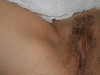 How about finger fucking you while sucking your wet pink lips and rubbing your clitty?  Just a thought!