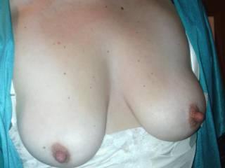 My wife's beautiful tits!