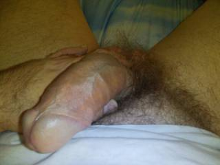 Best time to play is in the morning when you get up with a hard on and your dick is bagging for some action!!