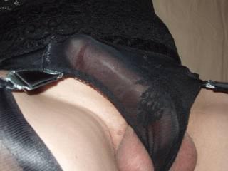 Hot Black Nylons