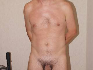 Me totally naked