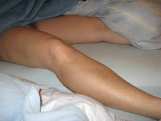 Leg hair is always so nice to see - but really hard to capture well on camera