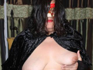 Horny on Halloween night!