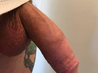 Love his fat cock! Any ladies want to suck on Ken's fat cock?