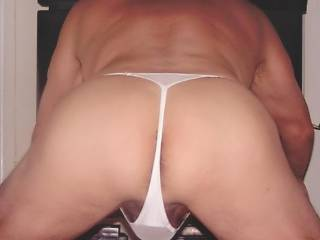 Sexy ass in thong!