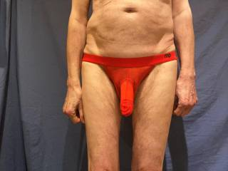 Even when flaccid  \'He\' is rather obvious in these undies.