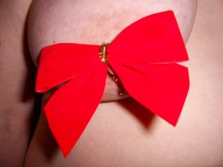 YOU HAVE THE MOST SECURE NIPPLES BUT YOUR BOWS NEED A LITTLE TIGHTENING