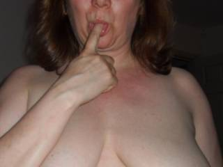 Mmm I'd love to get my tongue on those big tits