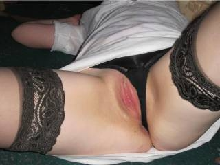 Yummy Pussy darling Lady, we'd both love to have a nice long languorous taste as we made your clit stiffen and throb..... xxx