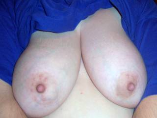 i would love to pull on your nipples just before i cum all over them