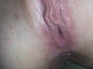 Was so good to suck on them lips!