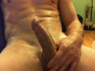 that was fucking hot! I would love to have all that cum deep in my pussy