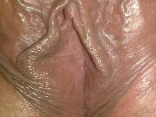 real close shot of my pussy