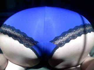 Just getting ready to pull off her panties - what a hot ass! Do you like it?