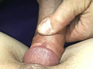 Close up of booty hole penetration on this fine young lady !
