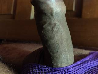 missing his sexy cock to fuck me.. imagining sucking his head thru the panties, before I ride him...