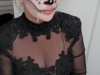 Halloween facial