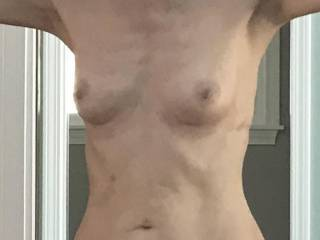 Are my breasts too small for my areolas or nipples?  From Mrs. Floridaman