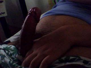 Mmmmm, so big and hard... and looks very comfortable... I will ride your dick and bounce my body till i get all the cum out of your balls!!!