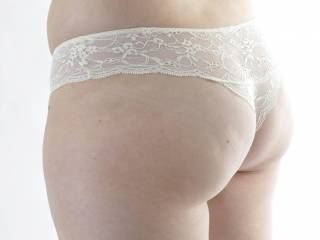 that`s not a thong they r french knickers. but ye i like your ass...xxx