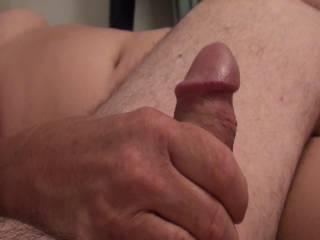 A little handjob foreplay before a blowjob from girlfriend. She wants to know what you  think of her hand skills and those big titties of hers??