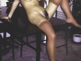 .. enjoy sliding you to the edge of that table and slipping my hardness inside , while my hands explored your breasts and `hot curves ..
