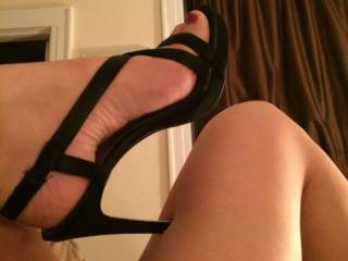 Indulging my husband\'s foot fetish ;)