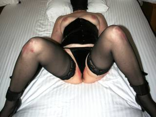 Finger fucked roughly until she squirts and repeat over and over again until her body just can't handle it any longer....then as her pussy is resting, use and play with her ass....and when her ass needs to rest, use her mouth. :)