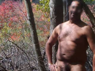 """You are looking very good in """"nature"""" too. Have a fun and sexy walk. Thanks."""