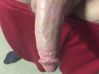 Very nice big thick cock. Very suckable.