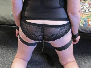 Such a lovely rear view.