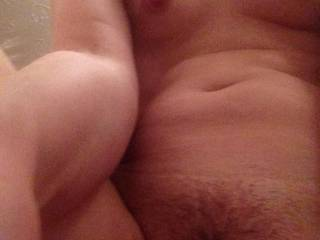 Stunningly beautiful breasts and pussy mound . Blessed beautiful body .