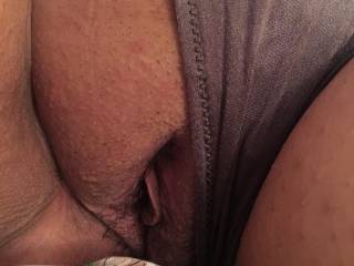 Bbw wife showing pussy