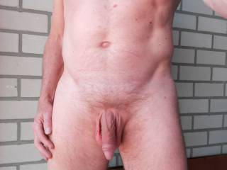 Another self shot of my body with my soft cock