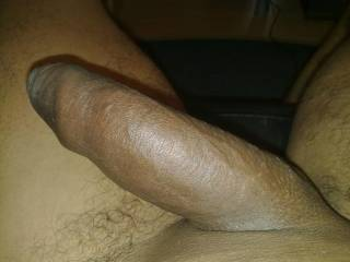 How gorgeous is that? Long, thick, smooth and very un-cut....fabulous. x